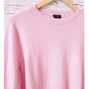 100% Pure Cashmere Light Pink Sweater